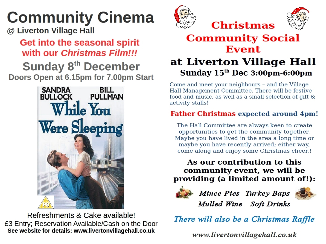 Christmas Community Social Event